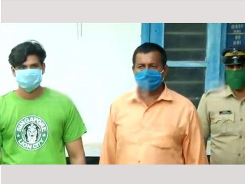 Sooraj with another accused Suresh