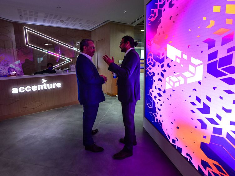 Stock - Accenture at Expo