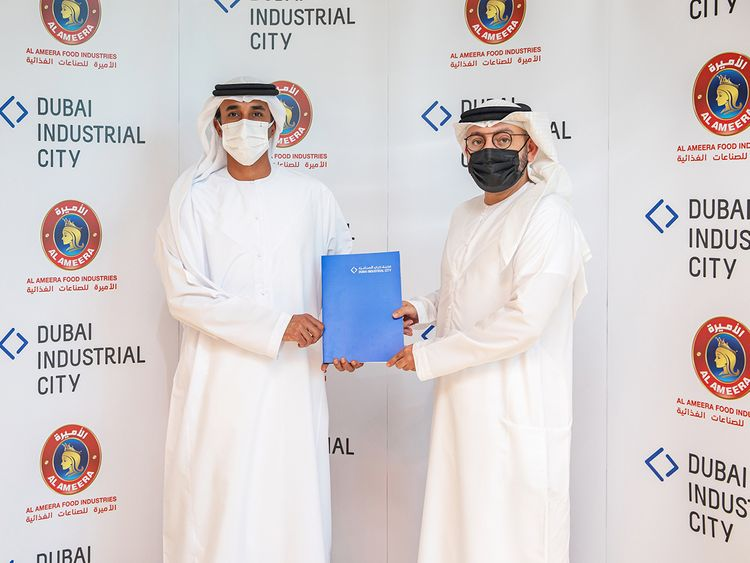 Stock – Dubai Industrial City (Al Ameera Food).