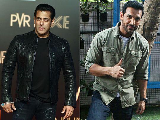 Salman Khan and John Abraham
