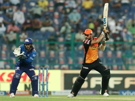 Sunrisers Hyderabad  and Mumbai Indians served up a cracker for fans at the Sheikh Zayed Stadium in Abu Dhabi