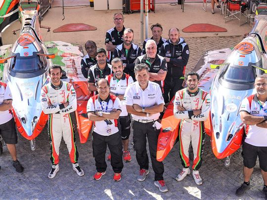 Team Abu Dhabi are hunting another world title