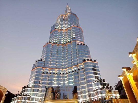 Burj Khalifa pandal durga puja kolkata