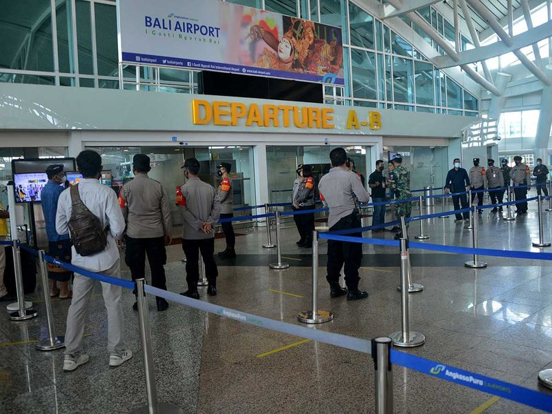 Bali indonesia airport