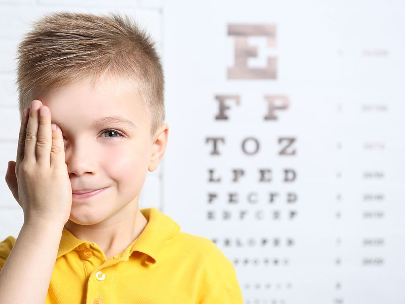 Child vision test