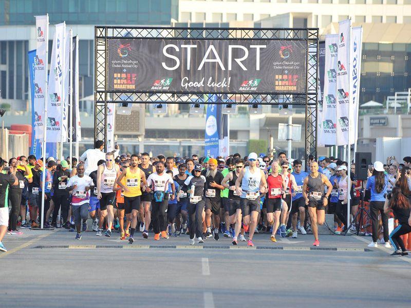 Dubai Festival City run