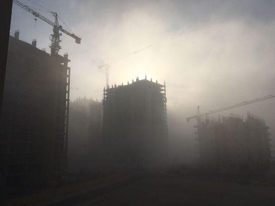 Fog in UAE