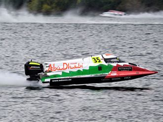 Rashed Al Qemzi of Team Abu Dhabi took pole in Portugal