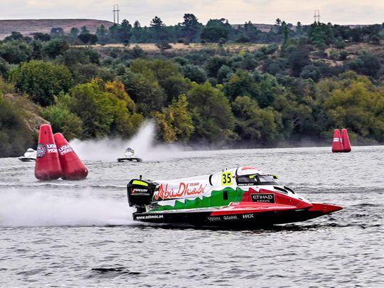 Rashed Al Qemzi wins in Portugal