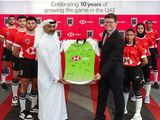 UAE Rugby and HSBC have been growing the game in the UAE for 10 years