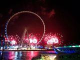 Ain Dubai fireworks