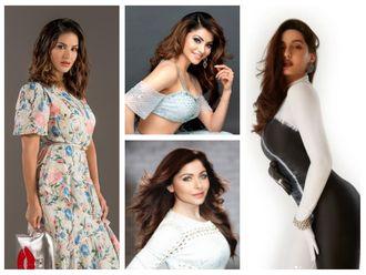 Sunny Leone, Urvashi Rautela, Nora Fatehi and Kanika Kapoor