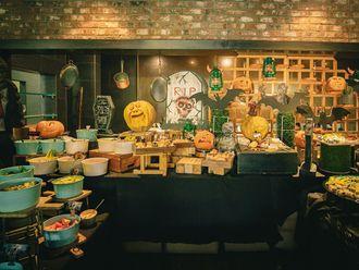 Warehouse Halloween Brunch at the Le Meridien, Dubai.