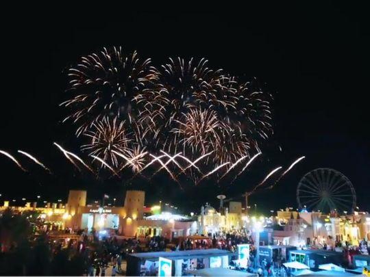 Abu Dhabi Sheikh Zayed Festival Fireworks