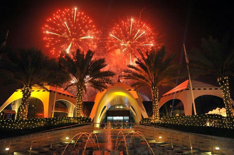 Emirates Golf Club New Year's Eve
