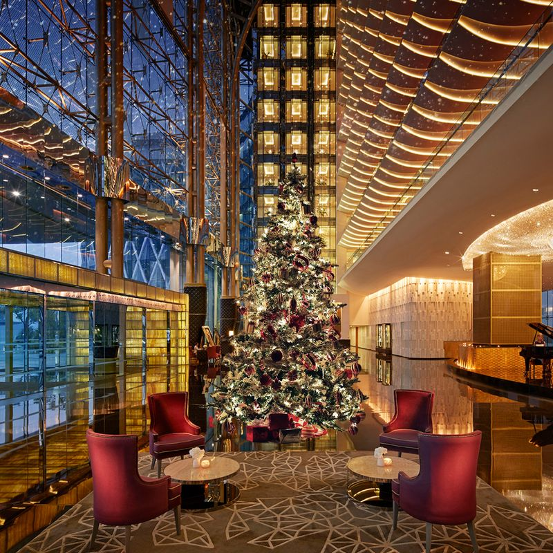 Meydan Hotel festive