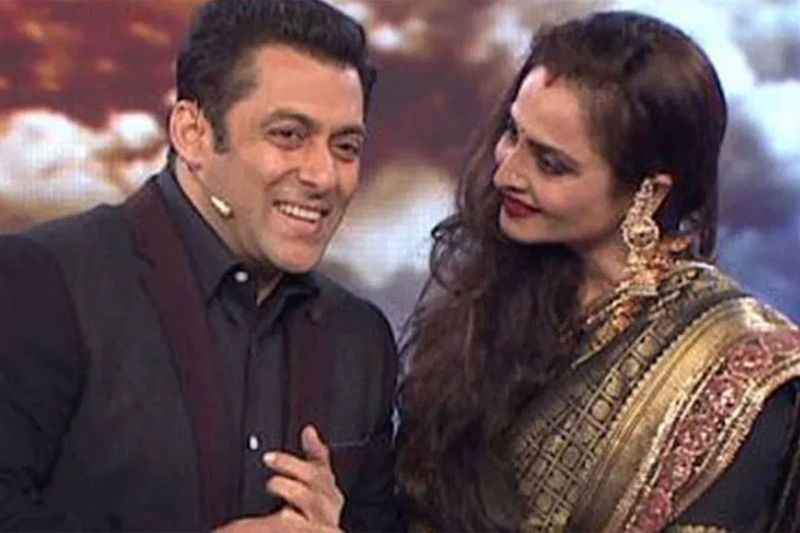 Salman and Rekha