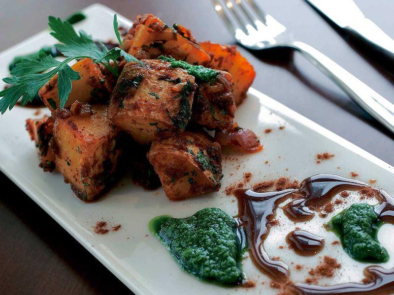 20121228 Lebanese spicy potatoes