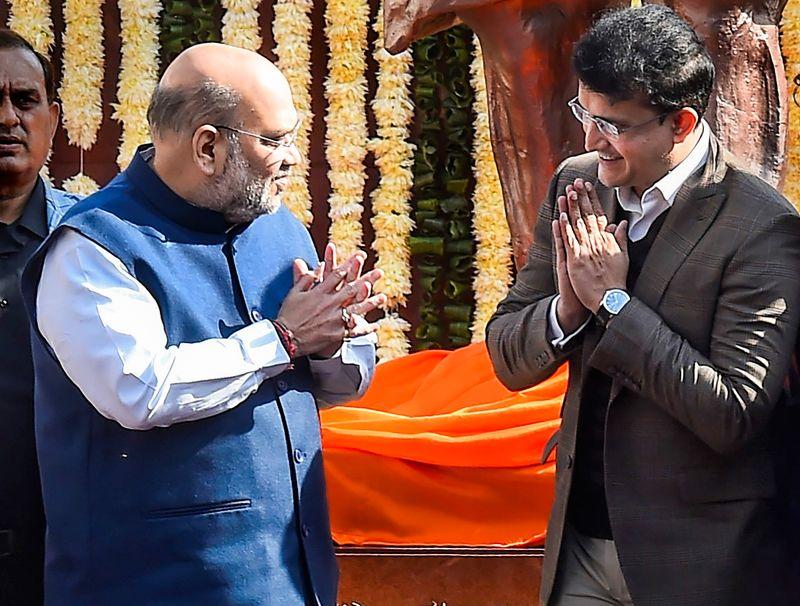 Cricket-Ganguly, Shah