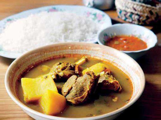 Bedouin goat meat stew
