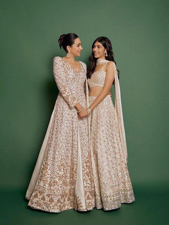 Karishma Kapoor with her daughter