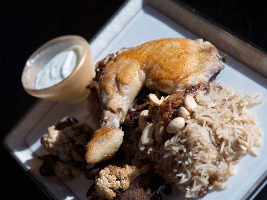 Makloubeh chicken