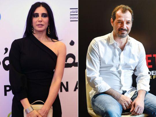 Nadine Labaki and Adel Karam