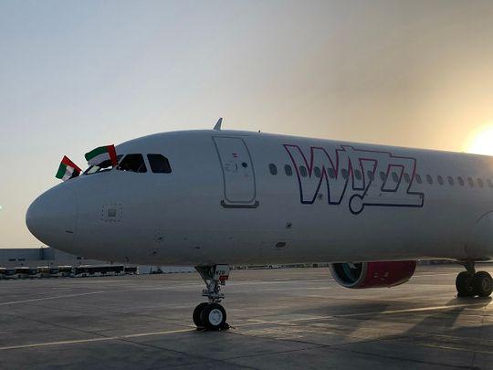 STOCK Wizz Air Abu Dhabi