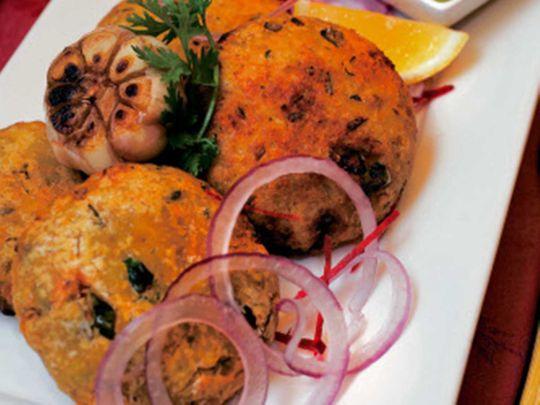 Tapioca shami kebab