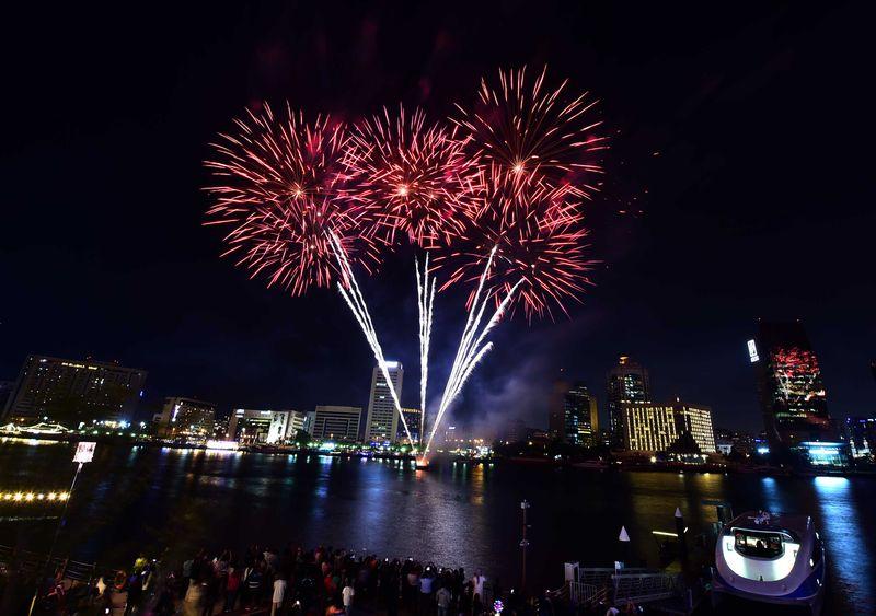 al seef fireworks