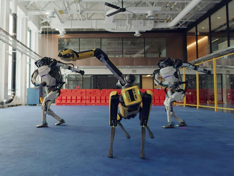 Photos: Behind those dancing robots, scientists had to bust a move