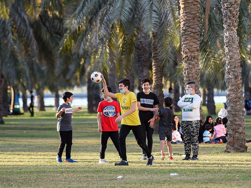 Holiday season in Dubai