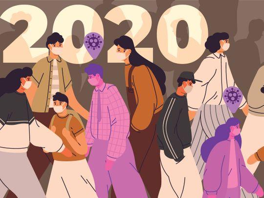 Illustration 2020 looking back