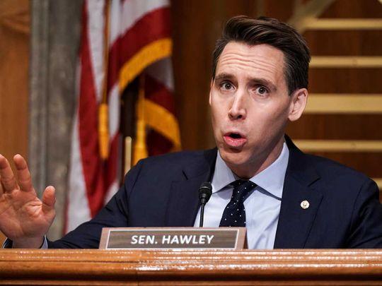 Sen. Josh Hawley Missouri Republican