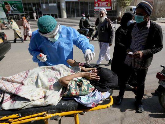 pakistan covid swab testing
